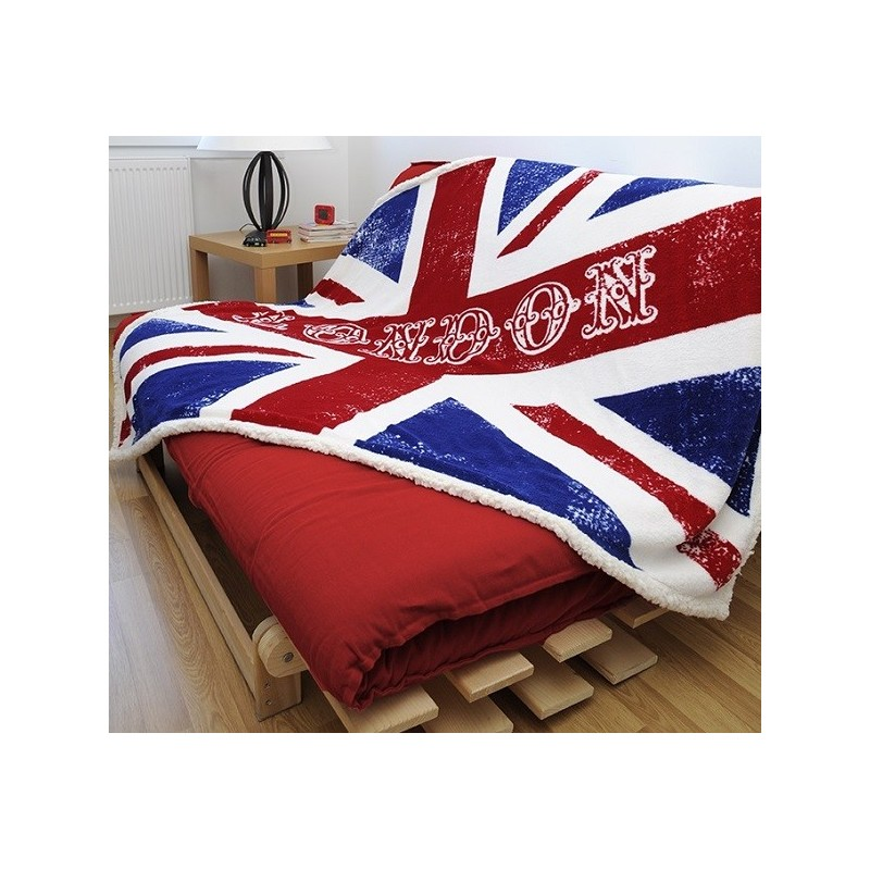 plaid ultra doux newcastle d coration chambre adolescent. Black Bedroom Furniture Sets. Home Design Ideas