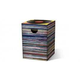 MUSIC EXPRESS, tabouret en carton