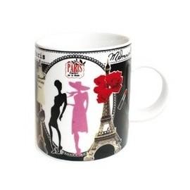 Mug Mademoiselle à Paris, classique et chic