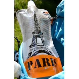 Gourde Souvenirs de Paris, Tour Eiffel design - 580 ml