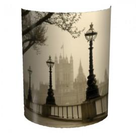BIGBEN - Applique Murale Londres - Luminaire Imprimé London