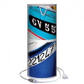 GV - Lampe de Bureau 40 cm imprimée Coques de Bateaux
