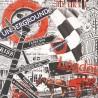 LONDON - Toile imprimée Londres - Cadre en bois 28 x 28 cm