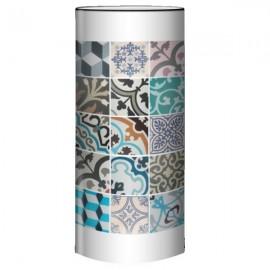 CIMENT - Lampe à Poser 80 cm Design Carreaux Anciens