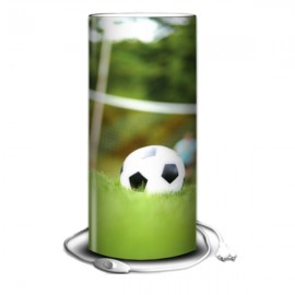 FOOT - Lampe de Bureau 40 cm - Imprimée Ballon Football
