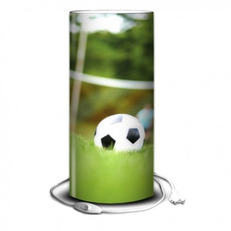 FOOT - Lampe de Chevet 30 cm - Imprimée Ballon de Football