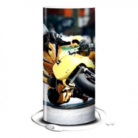 MOTO - Lampe de Bureau 40 cm - Imprimée Circuit