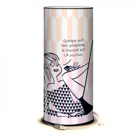 CHOCOLAT - Lampe de Bureau 40 cm imprimée Design