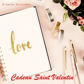 E-Carte Cadeau Saint Valentin à partir de 10 Euros