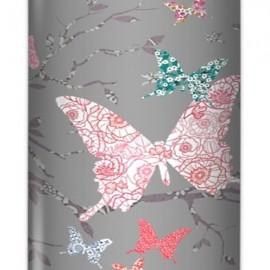 AZURE - Lampe de Bureau 40 cm - Motif Papillons Colorés