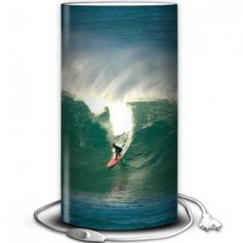 HOSSEGOR - Lampe de Bureau 40 cm - Motif Surf la Vague