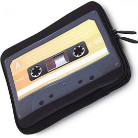 TAPE - Housse de Tablette K7 - Etui Ipad Vintage Cassette