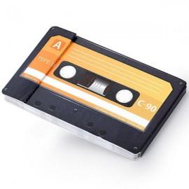TAPE - Petit Carnet Mémo K7 - Imprimé Vintage Cassette
