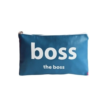 Pochette THE BOSS, au design masculin