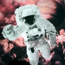 THOMAS - Edredon Enfant - Boutis Astronaute en Jersey