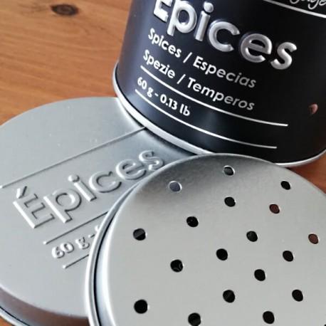 PILI - Boîte Métal à Saupoudrer - Design Epices Spices