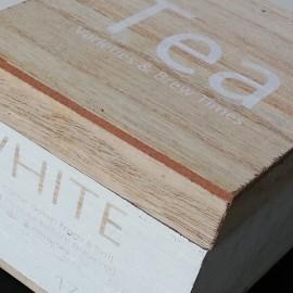 TEA - Boîte à Thé en Bois - Cuisine Design et Gourmande
