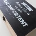 MATCHA - Boîte à Thé et Infusions en Bois - Décor Cuisine