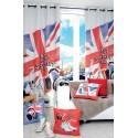 Coussin Star & Street 40x40cm décoration chambre adolescent