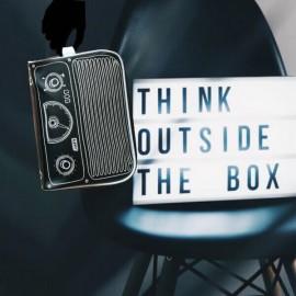 ENZO - Trousse de Toilette Homme et Gars - Imprimé Radio