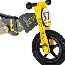 FABIO - Motocross de Course Enfant - Draisienne Moto Bois