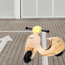 PIANA - Scooter de Course Enfant - Draisienne Vespa en Bois