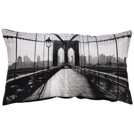 Coussin BROOKLYN 30x50 cm decoration New York USA