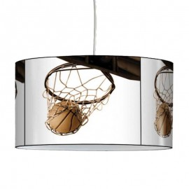 BASKETBALL - Plafonnier - Suspension Ronde - Lampe Lustre