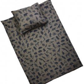 SAFARI - Housse de Couette 220 x 240 cm - Imprimé Animaux