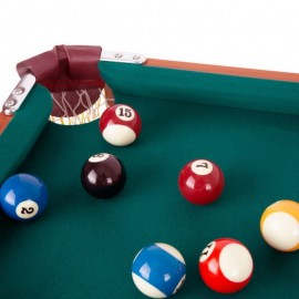 LERY - Table de Billard Pliante - 2 queues de jeu