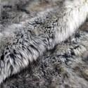ASTON - Plaid Fourrure 150 x 190 - Doublé Polaire