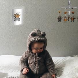 MAINE - Applique Murale Animaux - Luminaire Enfant