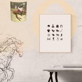 ANDIOL - Applique Murale Match Polo - Luminaire Cheval