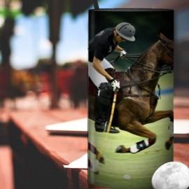 ANDIOL - Lampe de Chevet 30 cm - Imprimé Sport Polo