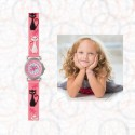 STELLA - Montre Chat - Montre Enfant Fille - Bracelet Rose