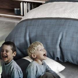 OUESSANT - Housse de Couette 140 x 200 cm à Rayures