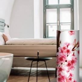 BURLAT - Lampe de Chevet 30 cm - Motif Fleurs de Cerisier