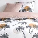 PALMYRE - Housse de Couette 220 x 240 cm - Palmiers