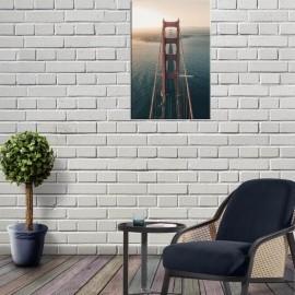 GOLDEN GATE - Tableau 60 x 90 - Pont San Francisco USA