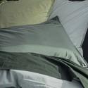 WALMER - Drap Plat 240 x 300 cm - Percale - Uni Vert