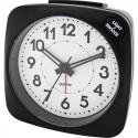 SURBA - Réveil à Aiguilles - Alarme - Lumière - Coloris Noir