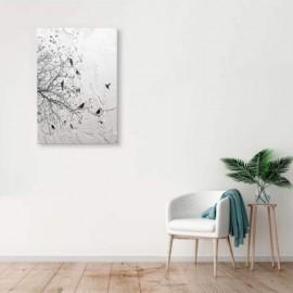 AVA - Tableau 60 x 90 cm - Décor Oiseaux