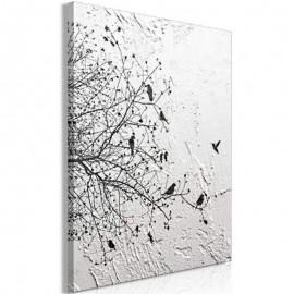 AVA - Tableau 80 x 120 cm - Décor Oiseaux Nature