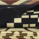 TARA - Plaid Imprimé 200 x 235 - Tissé Maya Alpaga Coton