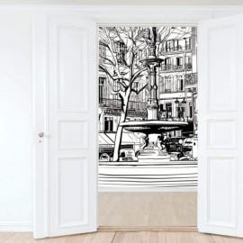 PARIS - Papier Peint Panoramique - Largeur 300 cm