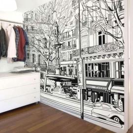 PARIS - Papier Peint Panoramique - Largeur 350 cm