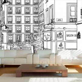 VILLE - Papier Peint Panoramique - Largeur 400 cm