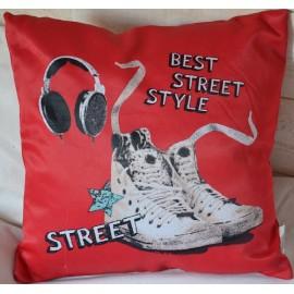 Coussin BEST STREET - Basket écouteurs
