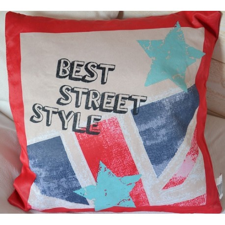 Coussin Star & Street