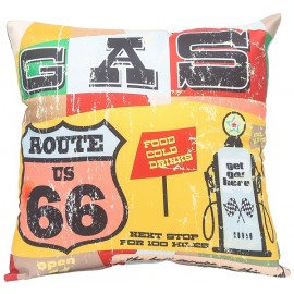 Coussin Route 66